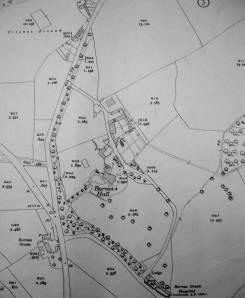 Map Barnes Hall 1935